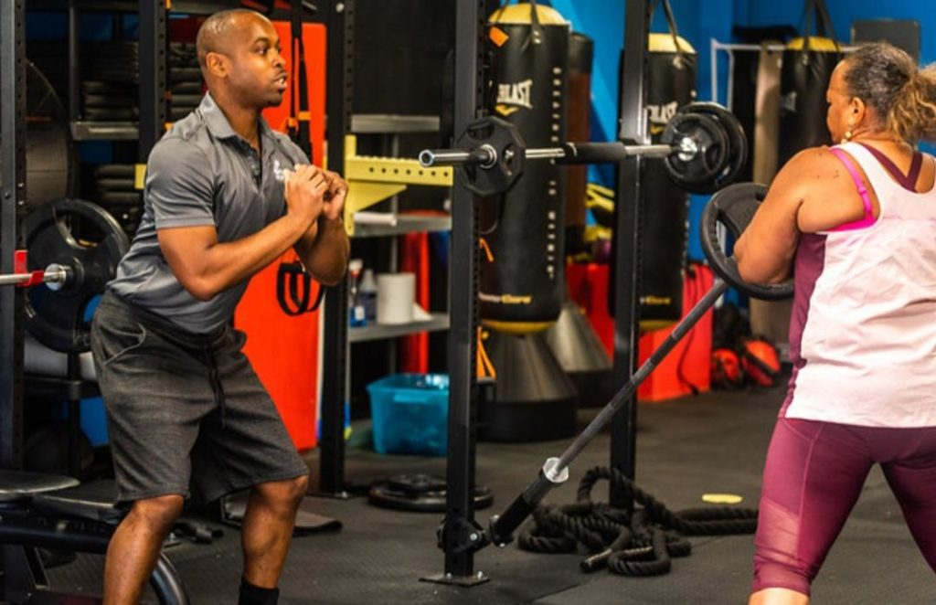 weight loss muscle trainer Houston gym